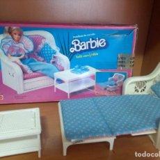 Barbie y Ken: SOFA DESPLEGABLE BARBIE DE LOS 80. Lote 148441854