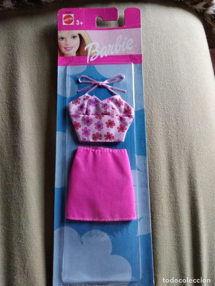 TRAJE BARBIE MATTEL. SIN ABRIR (Juguetes - Muñeca Extranjera Moderna - Barbie y Ken - Vestidos y Accesorios)