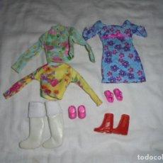 Barbie y Ken: ROPA Y CALZADO DE BARBIE LO QUE SE VE EN LAS FOTOS. Lote 149639266