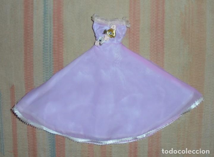 VESTIDO MUÑECA BARBIE - AÑOS 80 (Juguetes - Muñeca Extranjera Moderna - Barbie y Ken - Vestidos y Accesorios)
