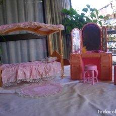 Barbie y Ken: DORMITORIO PARA BARBIE. Lote 152006902