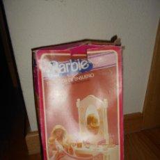 Barbie y Ken: TOCADOR DE ENSUEÑO,BARBIE,MATTEL, NO CONGOST,SPAIN,CAJA ORIGINAL,FUNCIONANDO. Lote 155407754
