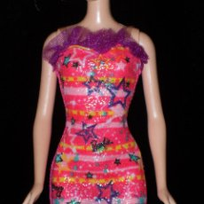 Barbie y Ken: VESTIDO ORIGINAL MUÑECA BARBIE FASHIONISTA MATTEL 2009. Lote 155522646