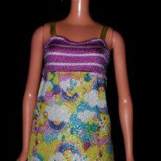 Barbie y Ken: VESTIDO ORIGINAL MUÑECA BARBIE FASHIONISTA MATTEL 2009. Lote 155522726
