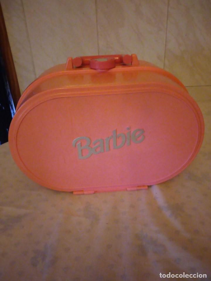DORMITORIO CASA MALETÍN BARBIE AÑO 1994 (Juguetes - Muñeca Extranjera Moderna - Barbie y Ken - Vestidos y Accesorios)