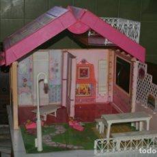Barbie y Ken: CASA CASITA MUÑECA BARBIE ANTIGUA 1992 FOLD´N FUN HOUSE. Lote 197809633