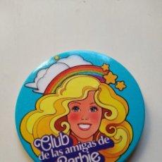 Barbie y Ken: CHAPA - CLUB DE LAS AMIGAS DE BARBIE - PIN - IMPERDIBLE - VERSION AZUL. Lote 159273766