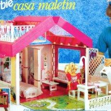 Barbie y Ken: BARBIE CASA MALETÍN DE MATTEL. ¡¡NUEVA!! AÑOS 90. Lote 159275498