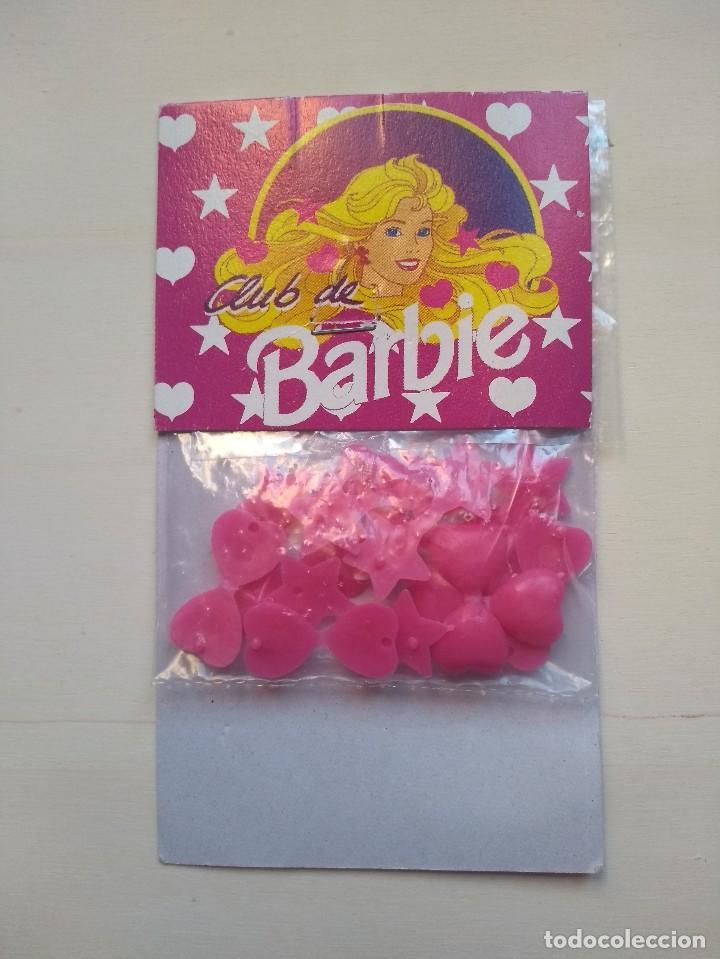CLIPS PARA EL PELO - CLUB BARBIE - ORIGINAL - BLISTER SIN USAR - RAREZA (Juguetes - Muñeca Extranjera Moderna - Barbie y Ken - Vestidos y Accesorios)
