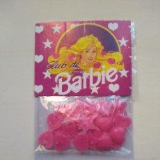 Barbie y Ken: CLIPS PARA EL PELO - CLUB BARBIE - ORIGINAL - BLISTER SIN USAR - RAREZA. Lote 159760638