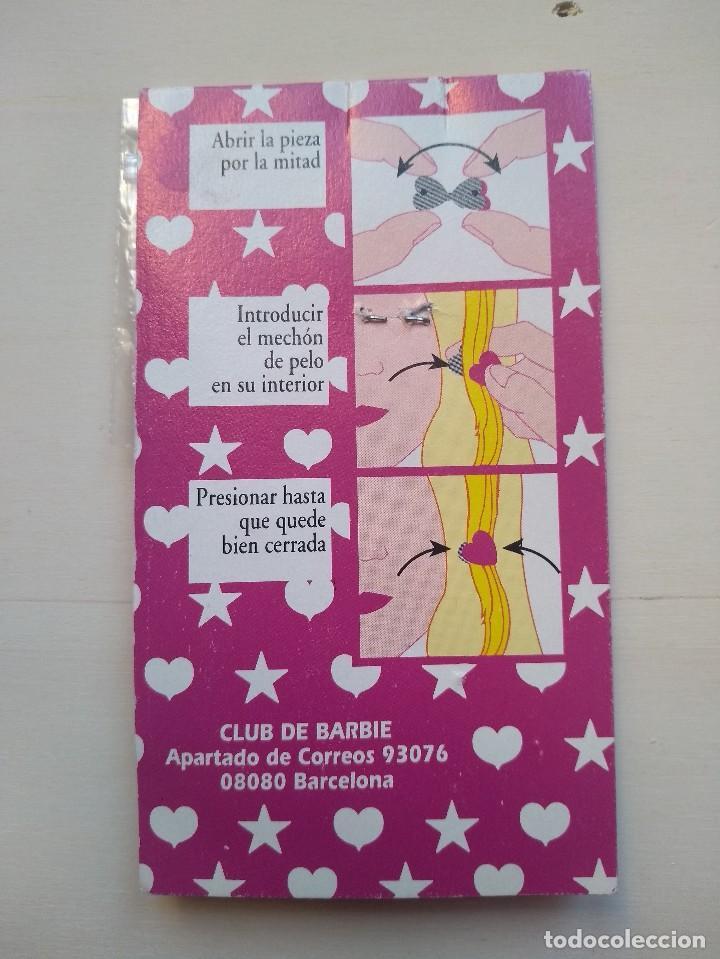 Barbie y Ken: CLIPS PARA EL PELO - CLUB BARBIE - ORIGINAL - BLISTER SIN USAR - RAREZA - Foto 3 - 159760638