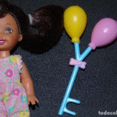 Barbie y Ken: GLOBOS PARA SHELLY BARBIE MATTEL(NO INCLUYE MUÑECA SHELLY). Lote 162457366