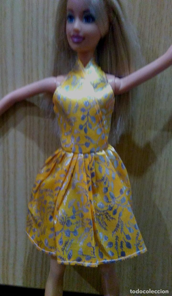 Precioso Vestido Para Barbie Y Muñeca Similar Regalito