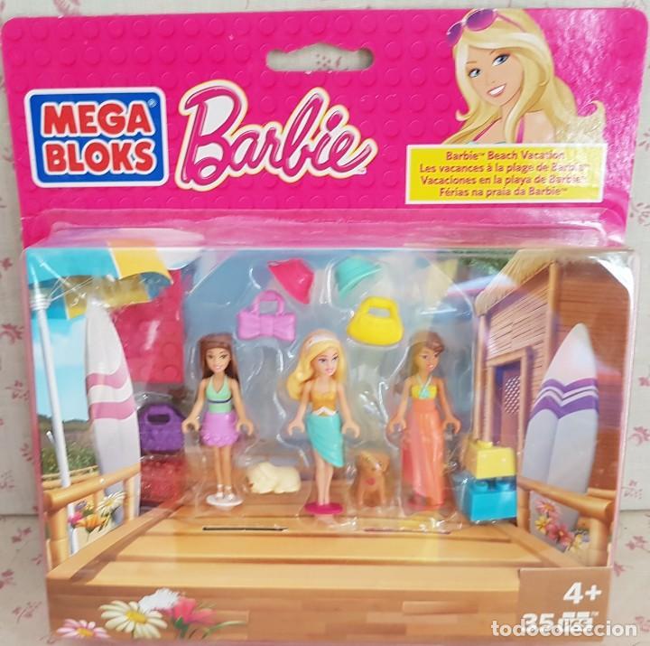 mega bloks barbie - vacaciones en la playa d - Acquista Barbie e