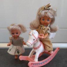 Barbie y Ken: CABALLITO Y MUÑEQUITAS DE SIMBA. Lote 167687932