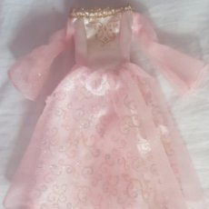 Barbie y Ken: VESTIDO DE BARBIE PRINCESA PRINCESS DRESS OUTFIT. Lote 167894012