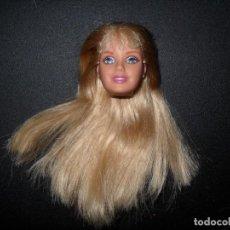 Barbie y Ken: CABEZA MUÑECA BARBIE MATTEL. Lote 168090296