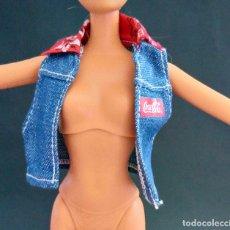 Barbie y Ken: BARBIE TOP CHALECO. Lote 171642894