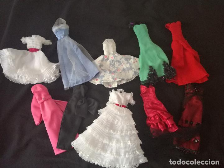 GRAN LOTE VESTIDOS BARBIE - DIVAS CINE COLECCION INOLVIDABLES (Juguetes - Muñeca Extranjera Moderna - Barbie y Ken - Vestidos y Accesorios)