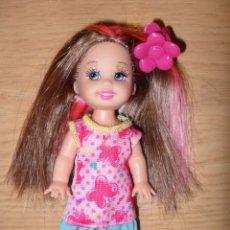 Barbie y Ken: MUÑECA MORENA SHELLY MATTEL BARBIE. Lote 172589944