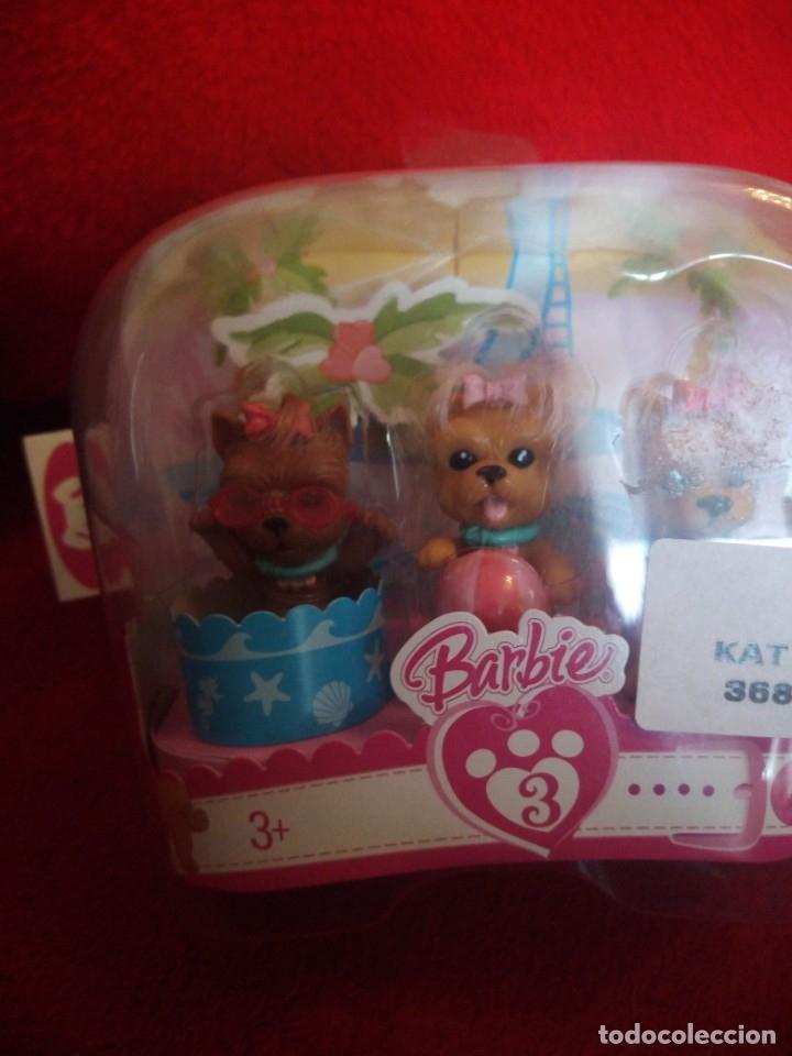 Barbie y Ken: BARBIE BLISTER CON 3 CACHORROS . MATTEL 2007 - Foto 2 - 173520567