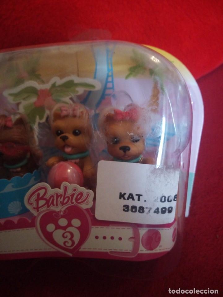 Barbie y Ken: BARBIE BLISTER CON 3 CACHORROS . MATTEL 2007 - Foto 3 - 173520567
