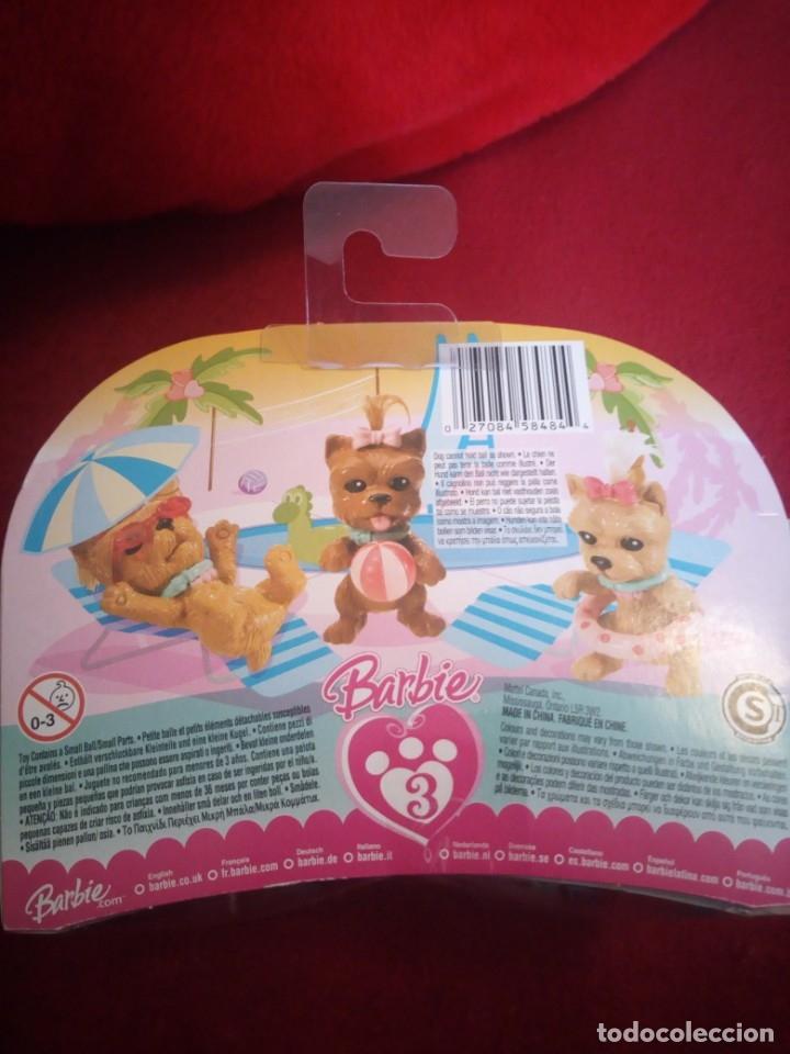 Barbie y Ken: BARBIE BLISTER CON 3 CACHORROS . MATTEL 2007 - Foto 4 - 173520567