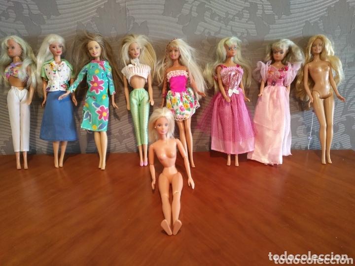 LOTE BARBIE ANTIGUA MUÑECAS MATTEL Y SIMBA LEER DESCRIPCIÓN BARBIE MATTEL MUÑECA (Juguetes - Muñeca Extranjera Moderna - Barbie y Ken - Vestidos y Accesorios)