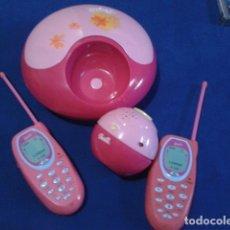 Barbie y Ken: LOTE BARBIE JOYERO ALARMA DE HABITACION GRABADORA DEL 2002 Y TELEFONOS 2004 BIEN CONSERVADO. Lote 175457185