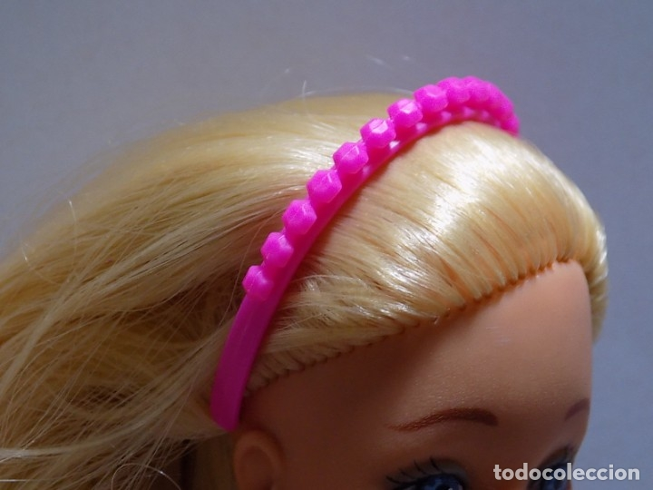 FELPA, DIADEMA PELO BARBIE (Juguetes - Muñeca Extranjera Moderna - Barbie y Ken - Vestidos y Accesorios)