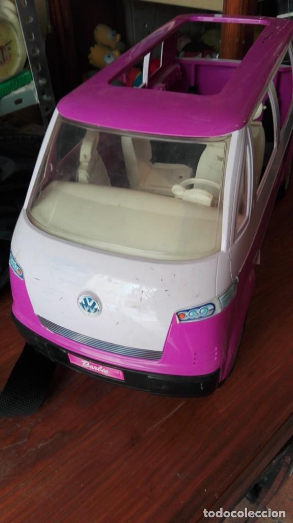 FURGONETA AUTOCARAVANA WOLKSWAGEN PARA BARBIE (Juguetes - Muñeca Extranjera Moderna - Barbie y Ken - Vestidos y Accesorios)