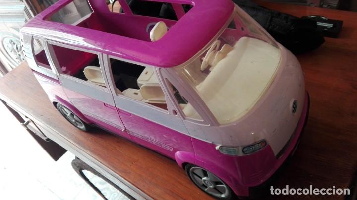 Barbie y Ken: FURGONETA AUTOCARAVANA WOLKSWAGEN PARA BARBIE - Foto 3 - 175893635