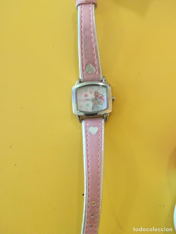 Barbie y Ken: Reloj Barbie de pulsera para niña, en caja. Comprado en joyería. - Foto 3 - 175919068