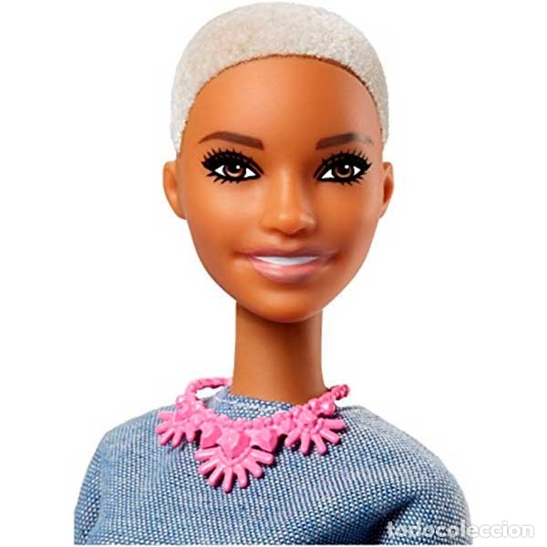 Barbie y Ken: Barbie Mattel Fashionista Nº 82 CHIC IN CHAMBRAY collar nuevo FASHIONISTAS - Foto 3 - 176513798