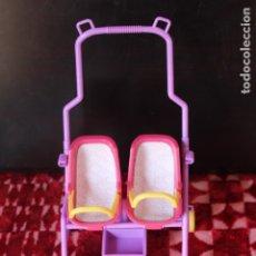 Barbie y Ken: CARRITO CARRICOCHE DE PASEO DE BARBIE GEMELOS MELLIZOS. Lote 176578209