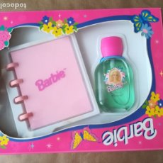 Barbie y Ken: CAJA CON AGENDA Y COLONIA BARBIE. Lote 176766408