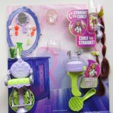 Barbie y Ken: BARBIE SO IN STYLE STYLIN HAIR MUÑECA TRICHELLE 2009 PEINADOS COMPLEMENTOS TRENZADOR NUEVO. Lote 176934793