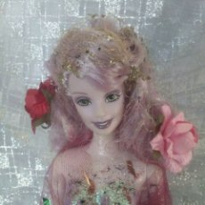 Barbie y Ken: MUÑECA BARBIE HADA CUSTOMIZADA OOAK FAIRY. Lote 177332077