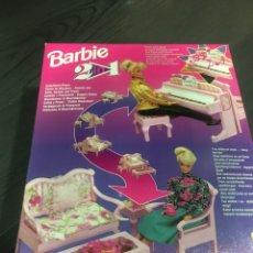 Barbie y Ken: SET 2 EN 1 DE BARBIE PIANO Y MESA TOMA DEL TE, LESLEY,NENUCO,NANCY,BARRIGUITAS,SINDY. Lote 177526057
