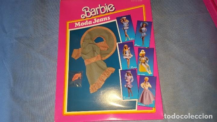 VESTIDO MUÑECA BARBIE - MODA JEANS (Juguetes - Muñeca Extranjera Moderna - Barbie y Ken - Vestidos y Accesorios)