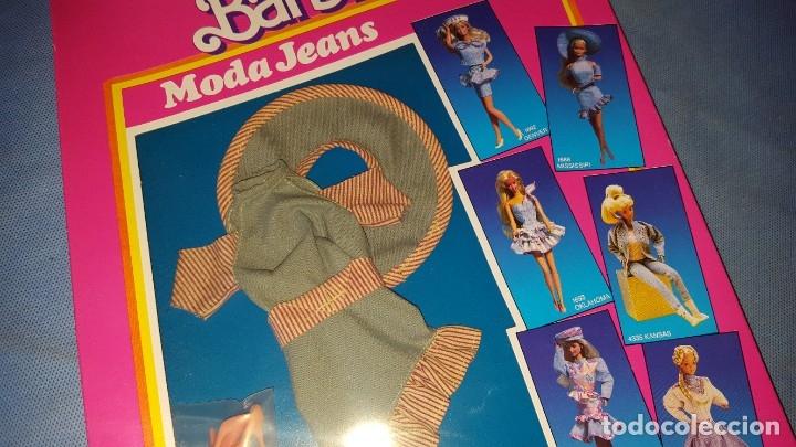 Barbie y Ken: VESTIDO MUÑECA BARBIE - MODA JEANS - Foto 2 - 177961533