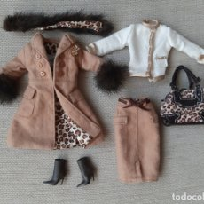 Barbie y Ken: TRAJE PARA MUEÑCA BARBIE SILKSTONE SPOTTED SHOPPING. Lote 179172027