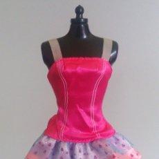 Barbie y Ken: BARBIE VESTIDO CORTO. Lote 179209152