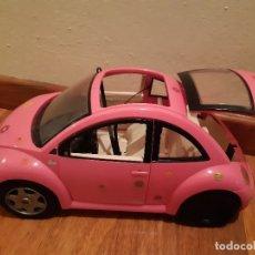 Barbie y Ken: COCHE ROSA BARBIE. Lote 182397887