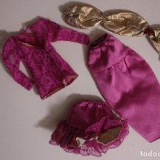 Barbie y Ken: CONJUNTO ORIGINAL BARBIE OSCAR DE LA RENTA CONGOST - MATTEL SPAIN, AÑOS 80. Lote 183203228