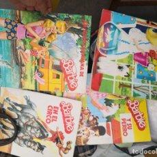Barbie y Ken: 4 COMIC LIBROS BIBLIOTECA DE BARBIE. EDITORIAL POMAIRE AÑOS 70. Lote 183562117