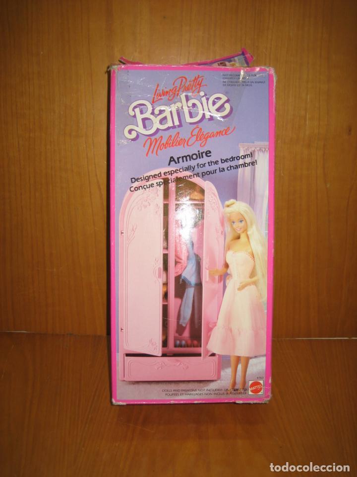 Barbie y Ken: Antiguo armario de muñeca Barbie - Foto 2 - 184774111