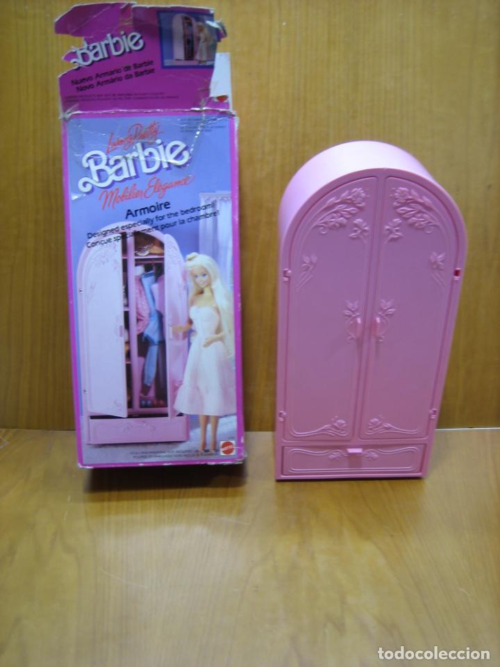 Barbie y Ken: Antiguo armario de muñeca Barbie - Foto 4 - 184774111