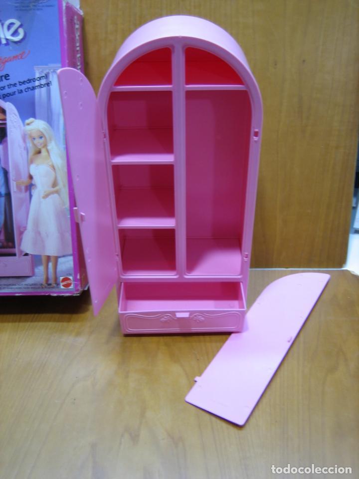 Barbie y Ken: Antiguo armario de muñeca Barbie - Foto 6 - 184774111