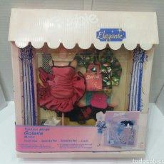 Barbie y Ken: BARBIE BOUTIQUE ELEGANTE. NUEVO EN CAJA. MATTEL. REF 3098. 1991. 3 CONJUNTOS. VESTIDOS. MODA.. Lote 241541840